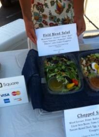 Love the Field Blend vegan salad!