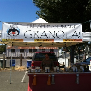 You can't miss this fresh and delicious granola!