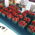 Rodriguez Farms organic strawberries!