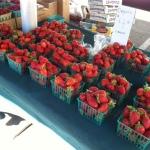 Rodriguez Farms organic strawberries!