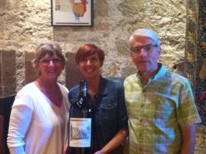 Wine tasting with my Mom Kit & my husband Steve