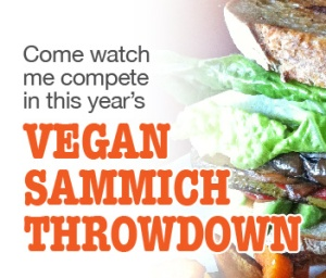 Your vote will send me to the 3rd Annual Vegan Iron Chef contest!!
