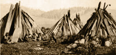 Wappo Indian Dwellings