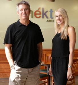 Founders of Nekter Juice Bar