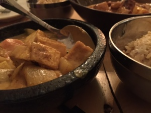 Kari Curry with tofu
