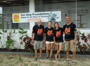 The hardworking Soi Dog Foundation team!