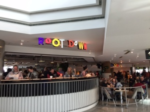 Root Down in the center of Terminal C!