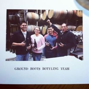Ground Boots bottling team!