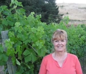 Carolyn Coryelle - founder of Coryelle Fields Vineyard