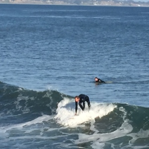 Capitola surfing