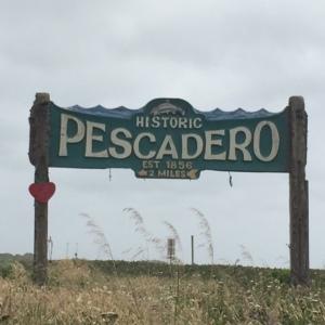 Pescadero sign