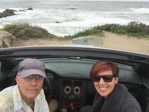 Steve and I Pescadero