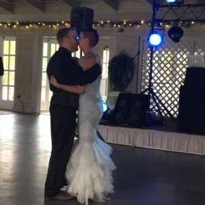 Mrs. Doss and Mr. Keegan's first dance!