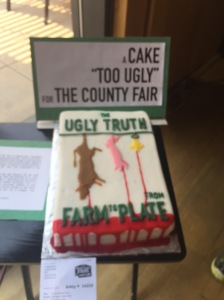 The Sonoma County Fair refused to allow this cake to be entered into their