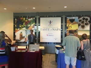 Taste of Napa inside banner