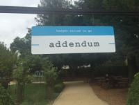 addendum sign