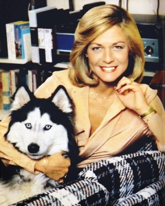 Jessica Savitch with her beloved dog Chewy.