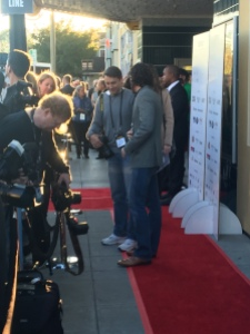Napa's paparazzi lining the red carpet!